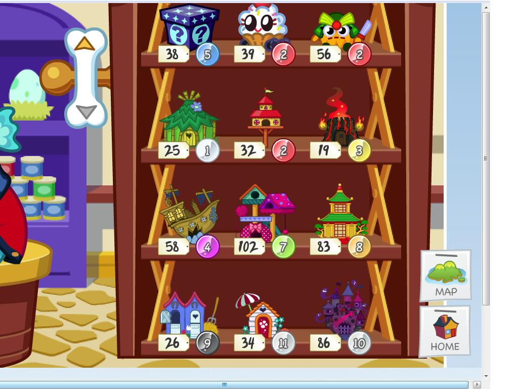 New Items Houses For Your Moshlings Now In Paws And Claws Moshi Monsters Expressway
