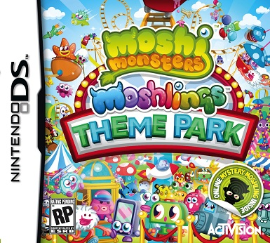 NEW DS GAME- Moshi Monsters: Moshling Theme Park