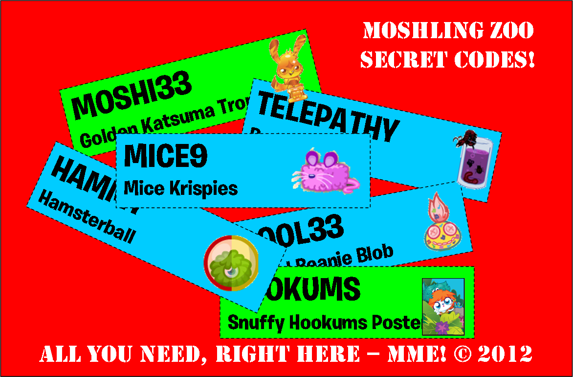 Secret Codes – Coming Soon! | Moshi Monsters Expressway
