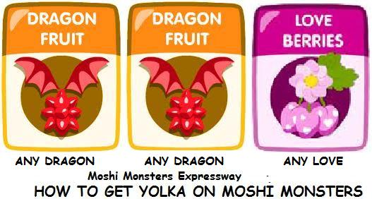 How to get Yolka on Moshi Monsters