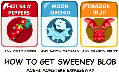 Sweeney Blob Moshi Monsters