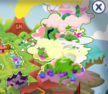 Beanstalk Map Moshi Monsters