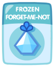 Frozen Forget Me Not Seed