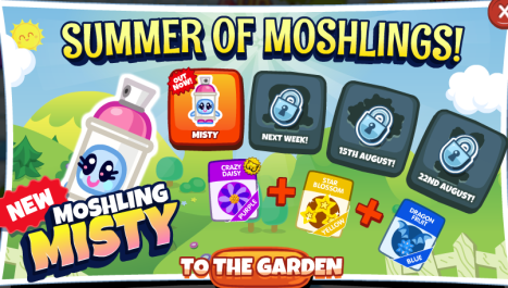 Summer Moshlings