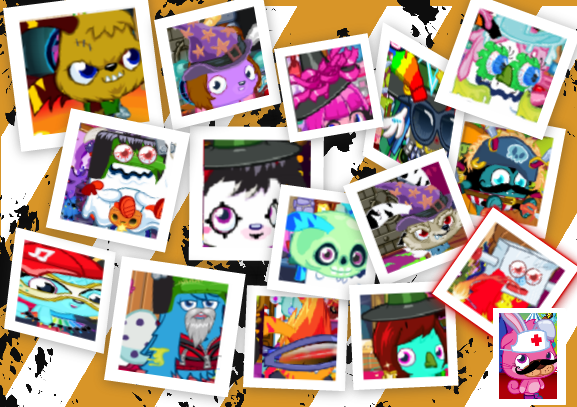 Moshi Monsters Expressway Favourite Halloween Costumes