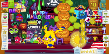 Moshi Monsters Halloween 2009Fire15