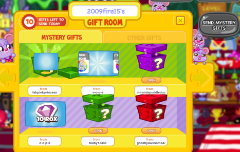 Moshi Monsters Mystery Gift