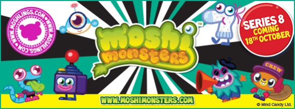 Series 8 Moshling Figures Moshi Monsters